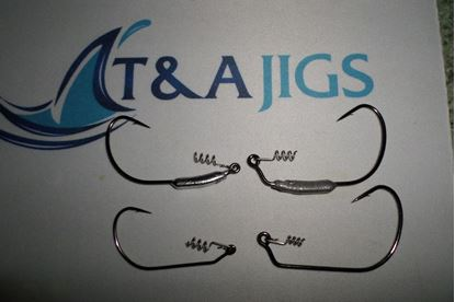 Picture of Weedless Swim Bait Jigs - 2 Pack